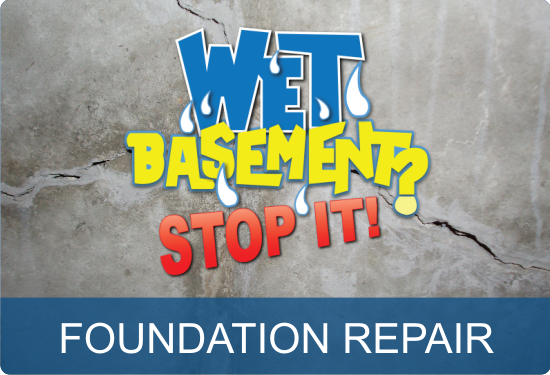 Wet Basement Foundation Repair - Saint John NB Quispamsis NB