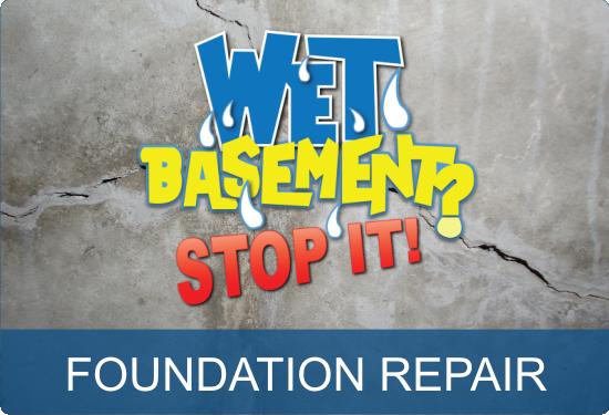 Wet Basement Foundation Repair - Saint John NB Quispamsis NB