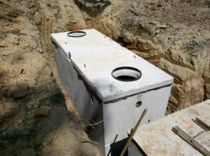septic tank installaton